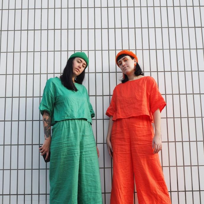 DIY Daisy Handmade Wardrobe Twins