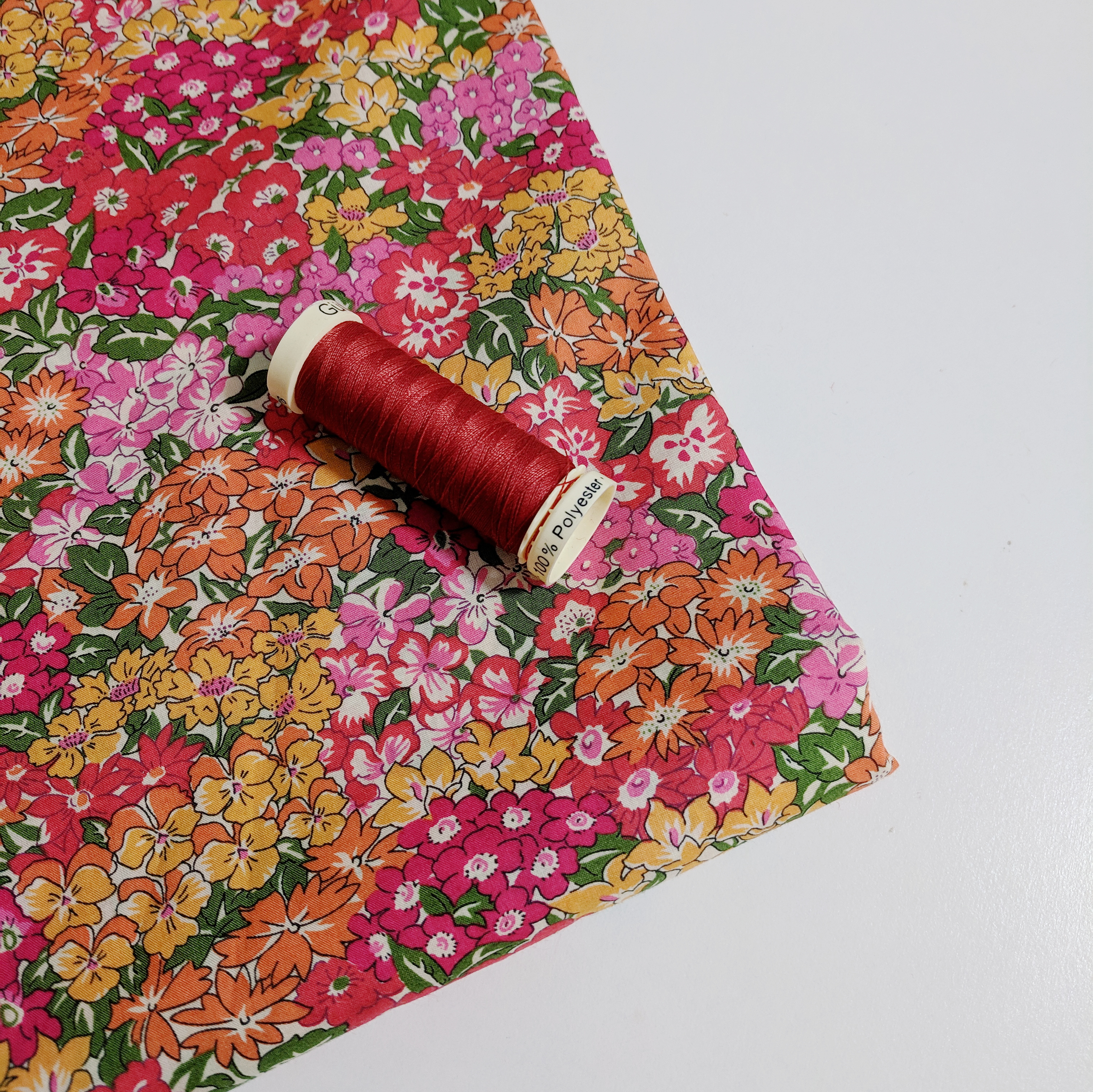 Liberty Tana Lawn Wonderland D and its matching thread from The Fabric Store Online