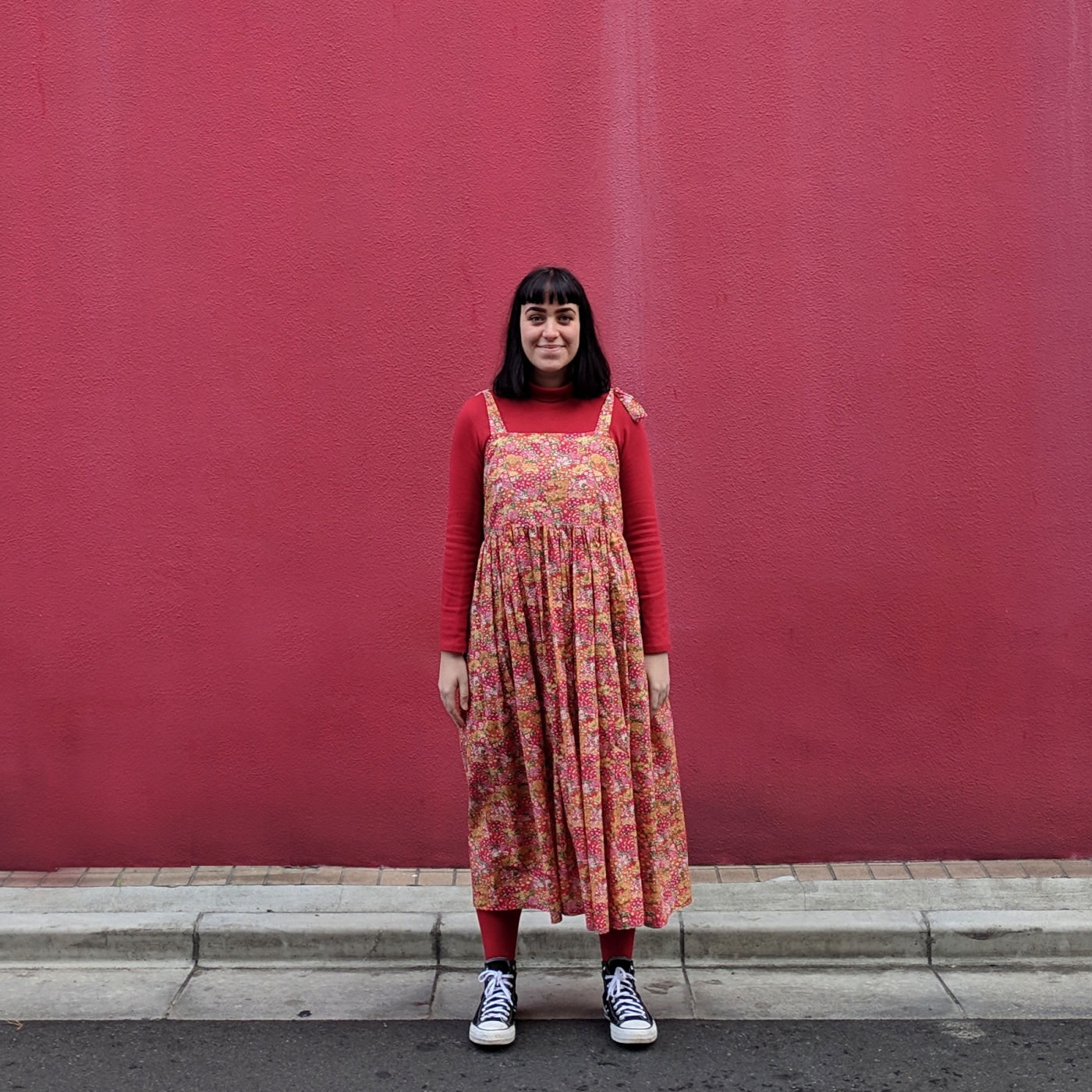 DIY Daisy Handmade Wardrobe Liberty Dress